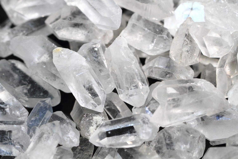 Cristal de Quartz Crypte de cristaux